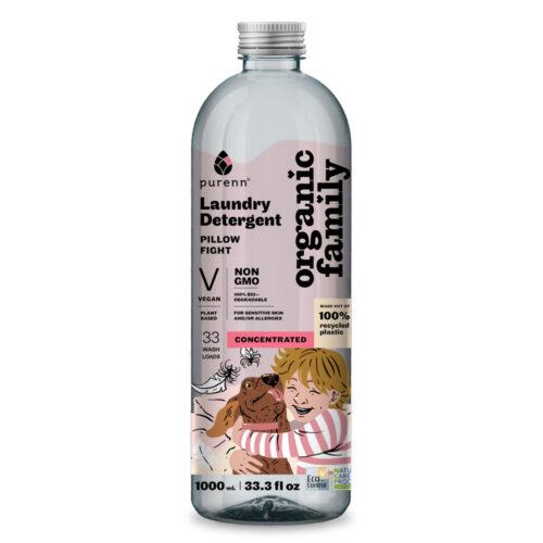 Looduslik pesuvedelik allergikutele Organic Family lõhnatu 1000 ml