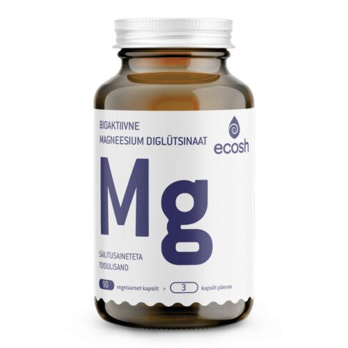 Magneesium glütsinaat Ecosh 90 kapslit