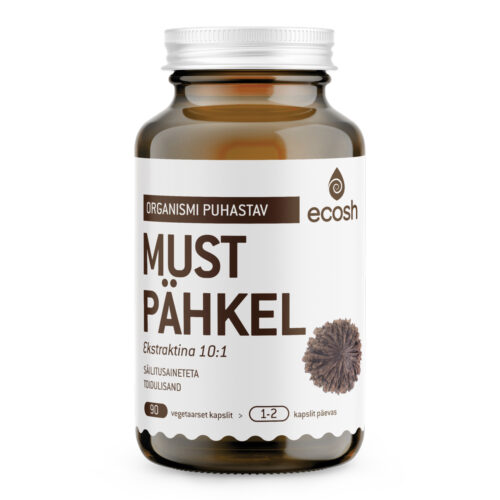 Musta pähkli ekstrakt Ecosh 90 kapslit