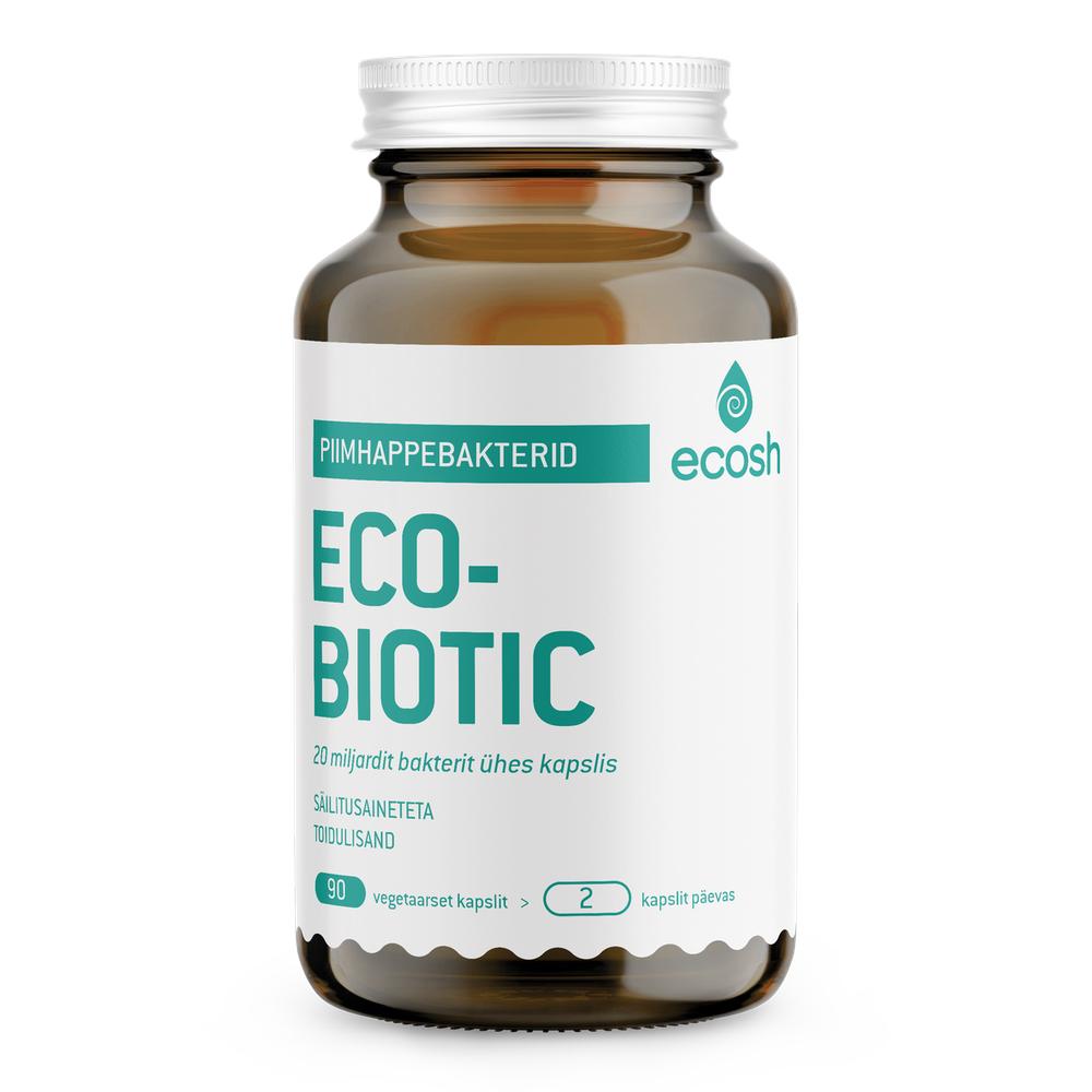 Piimhappebakterid Ecobiotic Ecosh 90 kapslit