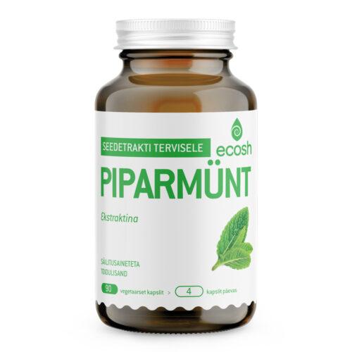 Piparmündi lehe ekstrakt Ecosh 90 kapslit