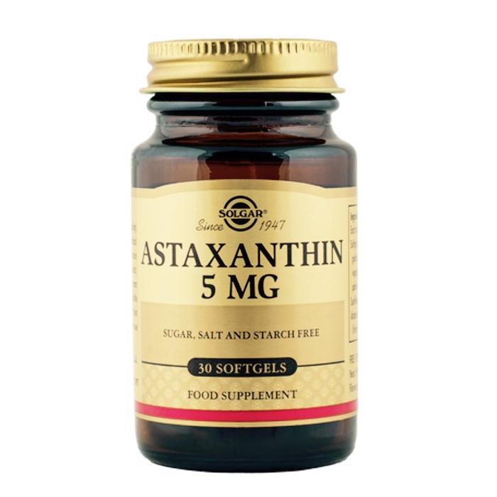 Astaksantiin 5 mg Solgar 30 kapslit