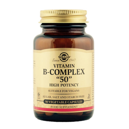 B vitamiini kompleks 50 Solgar 50 kapslit