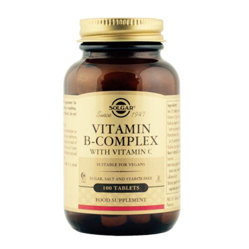 B vitamiini kompleks C vitamiiniga 100 tabl