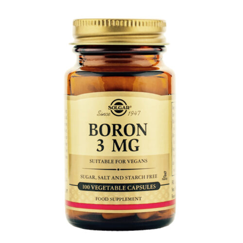 Boor 3 mg Solgar 100 kapslit