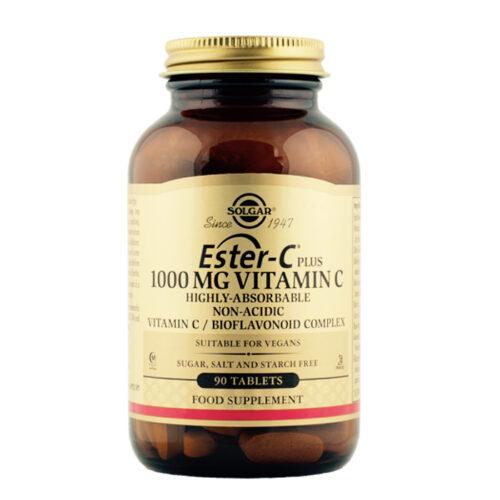 C vitamiin Ester-C PLUS Solgar 1000 mg 90 tabl