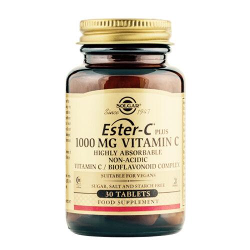 C vitamiin Ester-C plus 1000 mg Solgar 30 tabl