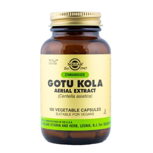 Gotu Kola ekstrakt Solgar 100 kapslit