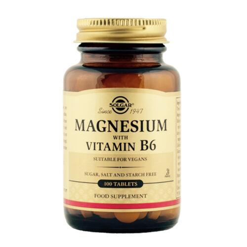 Magneesium koos vitamiin B6 100 tabl