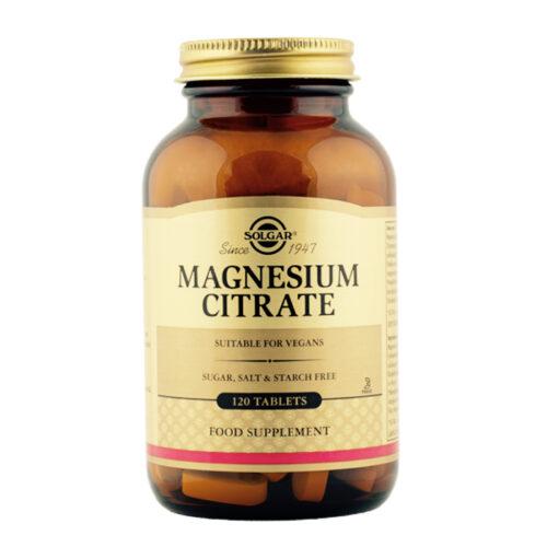 Magneesium tsitraat Solgar 120 tabl
