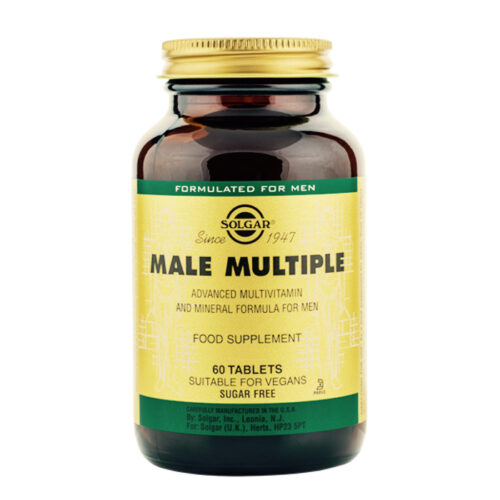 Multivitamiin meestele Male Multiple Solgar 60 tabl
