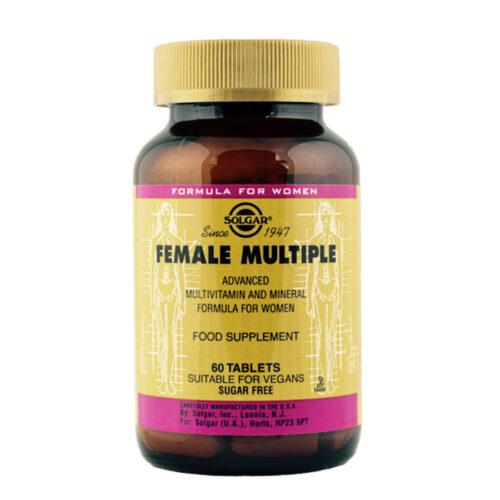 Multivitamiin naistele Female Multiple Solgar 60 tabl