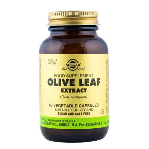 Oliivilehe ekstrakt Solgar 60 kapslit