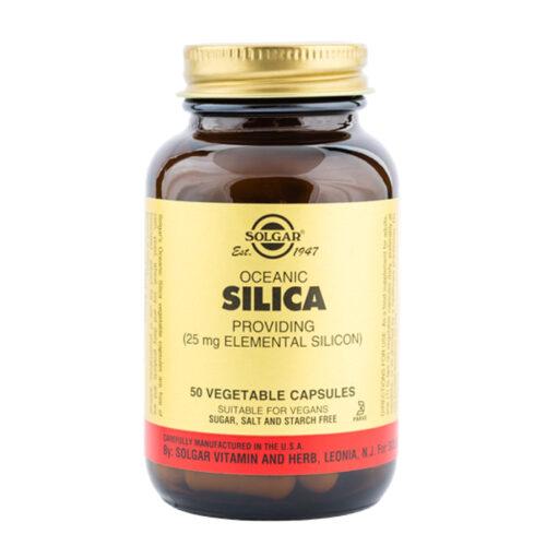 Orgaaniline ookeani räni punavetikast 25 mg Solgar 50 kapslit