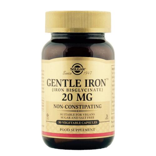 Rauatabletid 20 mg Gentle Iron Solgar 90 kapslit