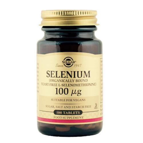 Seleen 100 µg Solgar 100 tabl