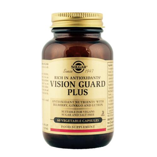 Silmade kompleks Vision Guard Plus Solgar 60 kapslit