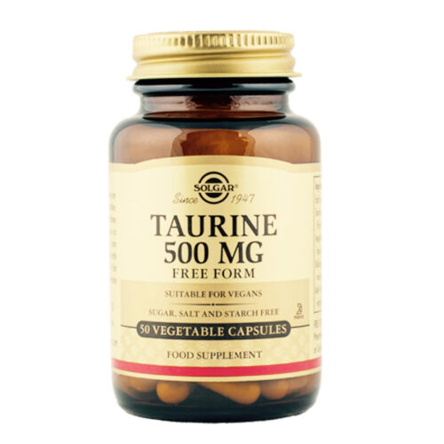 Tauriin 500 mg Solgar 50 kapslit