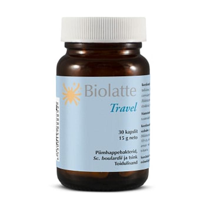 Probiootikum Travel Biolatte 30 kapslit
