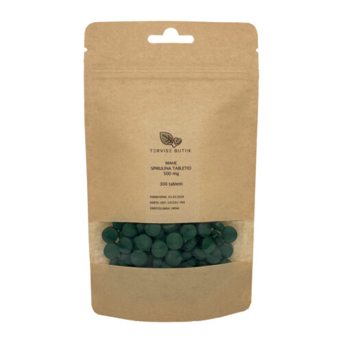 Mahe Spirulina tabletid 300 tabletid